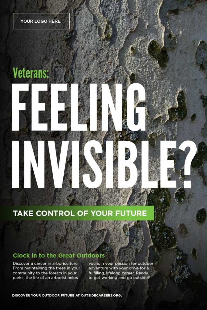Feeling Invisible? target poster - toolkit